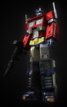 Optimus Prime - voiced by Peter Cullen
