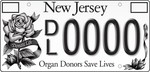 """New Jersey's """"Donate Life"""" license plate"""