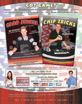 The Official Poker Card Stunts & Chip Tricks DVDs -Bluff Magazine ad