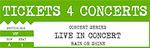 Tickets 4 Concerts Logo