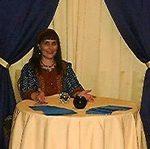 Fahrusha giving a reading