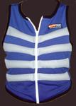 Arctic Heat Blue Zip Body Cooling Vest