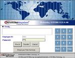 Enterprise Time and Attendance Login Screen