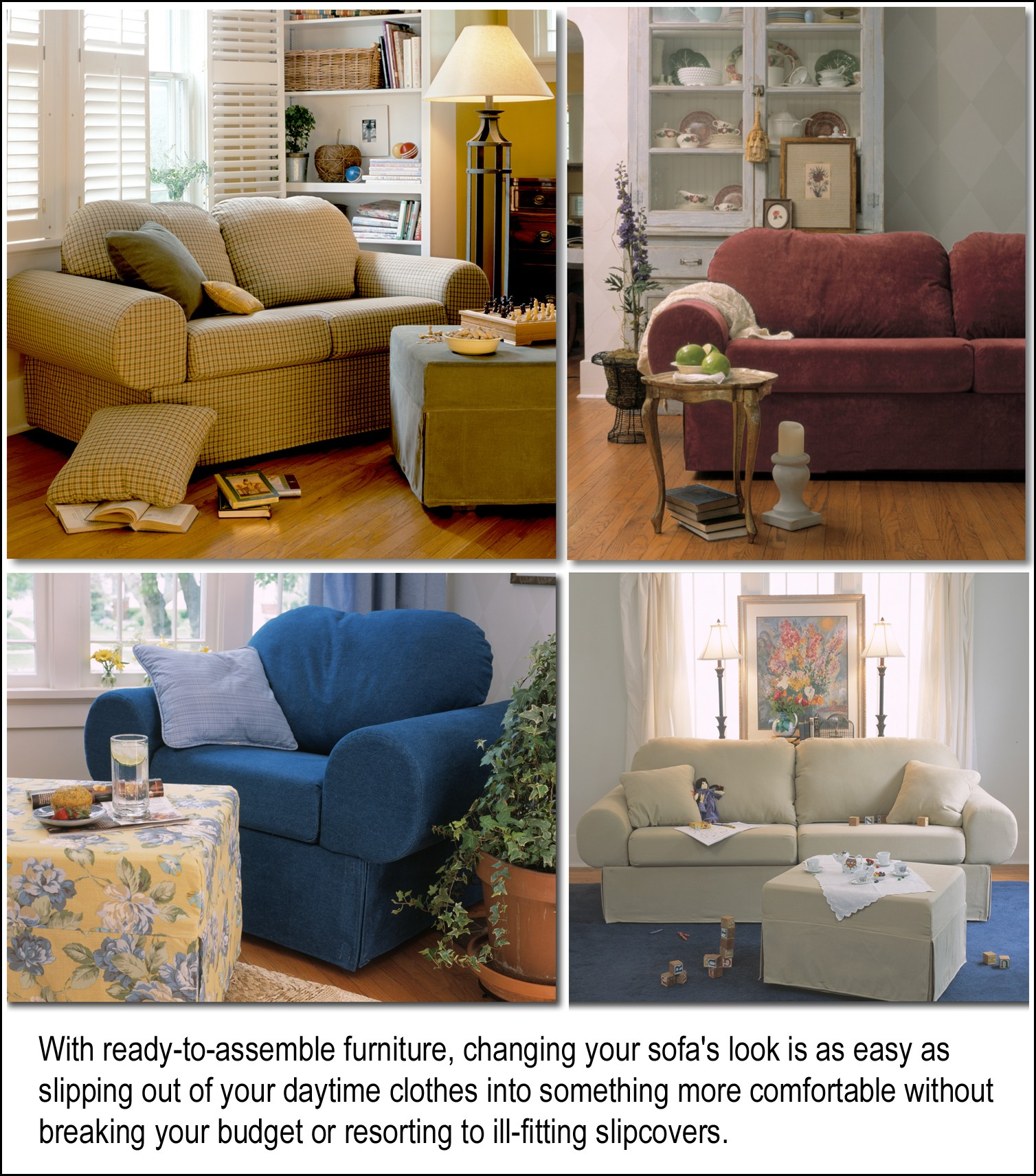 cheap sofa gives you the ability to instantly change a