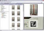 In the Visidot System (http://www.visidot.com), assets are uniquely labeled with standard 2D Data Matrix barcodes or with Visidot Colorcodes. As assets pass in front of the Visidot Reader, the reader captures hundreds of labels simultaneously and transmits the information to an image processing system, which decodes the data from each label.  This asset data is exported to a data management system in XML or other standard format.  Images can be stored in a separate Image Bank. An easy-to-use Site Management System controls the entire process.