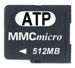 ATP 512MB MMCmicro for Latest Mobile Phones