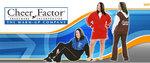 Cheer Factor Logo/ProDance sponsor
