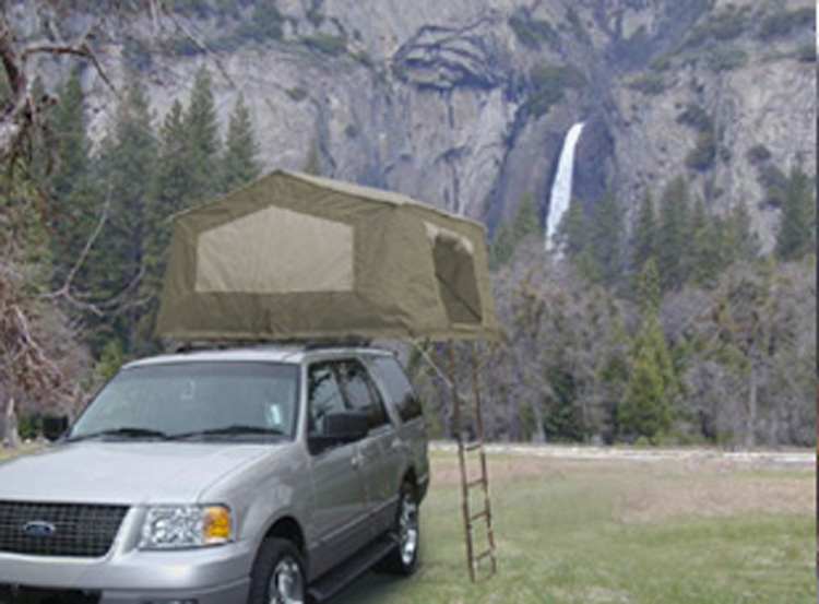 Car-Top-Tent on SUVPhoto of car-top-tent on Ford Explorer ... & Get up with the Car-Top-Tent - Car-Top-Tent.Com Sits High and ...