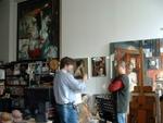 Freitas in Wang's NY Studio