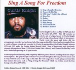 Photo Insert - Sing A Song For Freedom