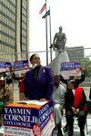 Yasmin H. Cornelius Speaks at Candidacy Announcement