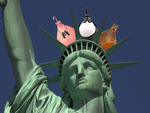 Gourdaments visit The Statue of Liberty