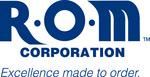 R-O-M logo