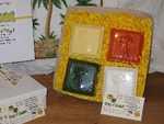 Crazy 4 Coconut Soap Collection Gift Box - closeup