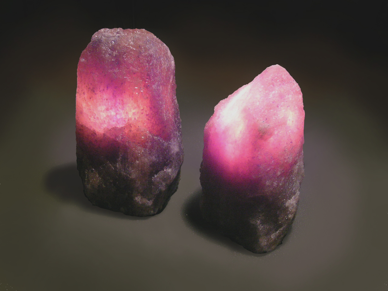 Salt Crystal Lamp Light Bulbs : Natural Salt Crystal Lamps Produce Healthy Negative Ions