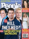 Thomas Tevana in People Magazine's Hottest Bachelor Issue