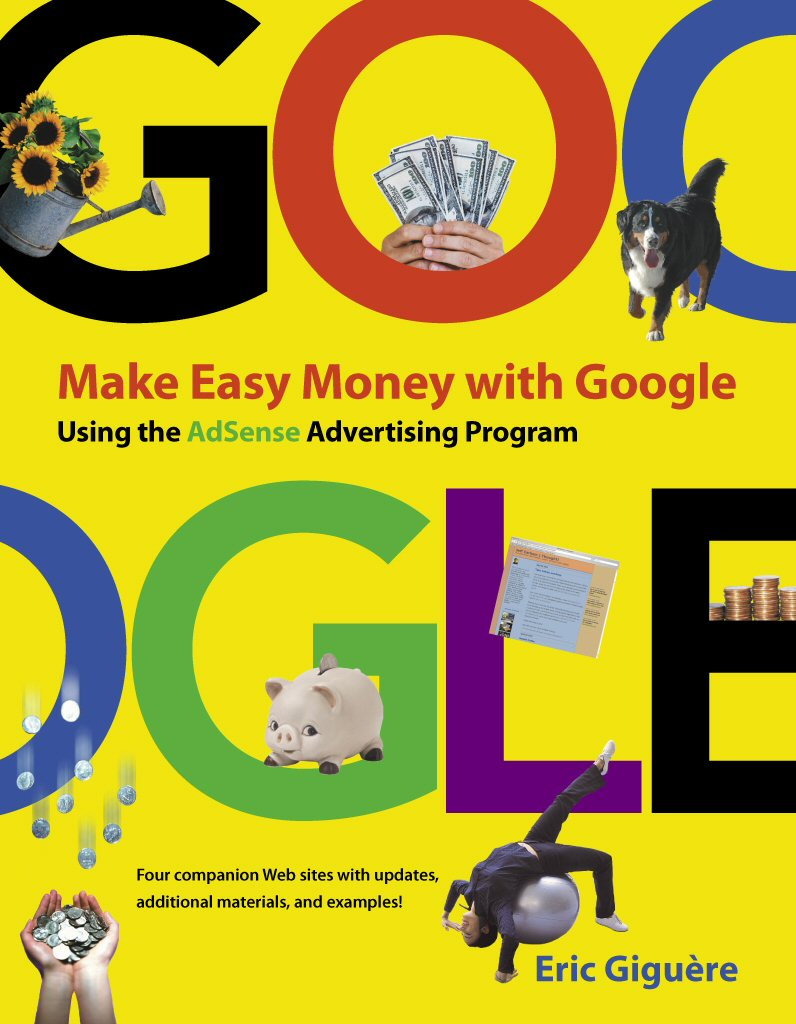 Book Cover Making Program ~ Canadian author publishes new book on making money with google