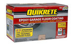 Quikrete garage floor epoxy kit
