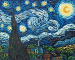 Van Gogh Starry Night Handmade Oil Paintings