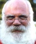 Color photo, Santa Claus