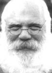 Black and white photo, Santa Claus