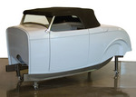 Hot Rods & Horsepower new fiberglass version of its Dearborn Deuce Convertible™ body, a '32 roadster body redesigned around a fully disappearing top assembly