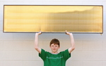 Lightweight Solar Water Heating Collector