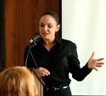 Christine Schiwietz addresses the United Nations Women's Guild