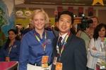 Meg Whitman (CEO eBay) and Sieng Van Tran (CEO AuctionAssist)