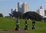 San Francisco Segway Tour glides through the park