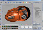 "SolidWorks ""Seadoo"" Model Imported into Cinema-4D via PolyTrans and the ""Engineering Bundle"". ""SeaDoo ZS06"" designed and manufactured by Daka Designs Ltd. Hong Kong."