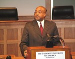 Andrews Delivers Keynote on the Importance of Service to Others at Catholic Univ. of Amer. Law School
