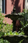The Courtyard Fountain at the Hotel Maison de Ville