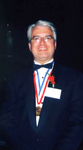 Thomas Stankovich is honored with the Ellis Island Medal of Honor