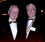 NECO Co-Chairmen Lee A. Lacocca with Medalist Thomas Stankovich