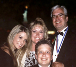 Thomas Stankovich with his wife and family the Ellis Island Medal of Honor Gala