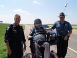 Kansas Highway Patrol Officers and Rick Davidson