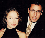 Agata Gotova and Adam Sandler