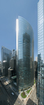 The new Hyatt Center 49-story office tower on Wacker Drive in Chicago. Photo by Steve Hall/Hedrich Blessing