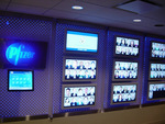 Pfizer custom-etched display