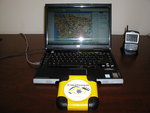 Homeland Integrated Security Systems'Cyber Tracker is small, durable and offers real-time GPS tracking.