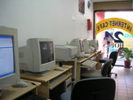 "Internet Cafe in Singapore's ""Little India"" quarter"