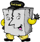"Mr. Happy Crack says... ""A dry crack is a happy crack!"""