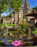 A Balinese Gate of a Nusa Dua Hotel