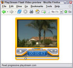Streaming Flash Video is now easy to add to any Web page, thanks to PlayStream VideoLaunch from WebAssist
