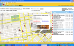 Hotel Map View Search Result Page