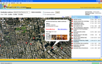 Hotel Satellite Map View Search Result Page
