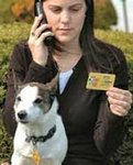 The petFINDER™ 'Calling Card'