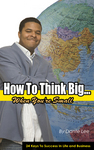 "Bookcover - ""How To Think Big"""