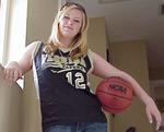 WHITNEY WOLANIN Basketball Uniform Shot for GOOD